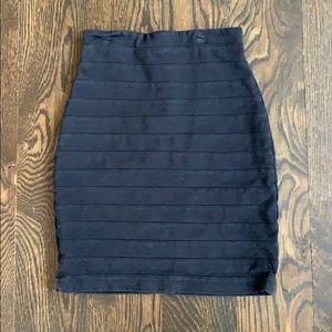 Express stretch mini pencil skirt